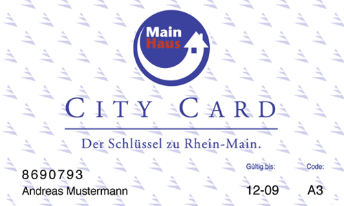 City Card Main Haus