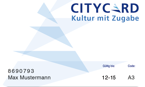 City Card Neues Motiv